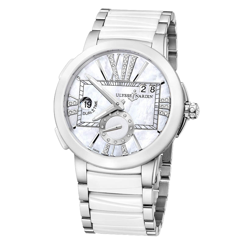Executive Dual Time Ladies 40mm 243-10-7/391