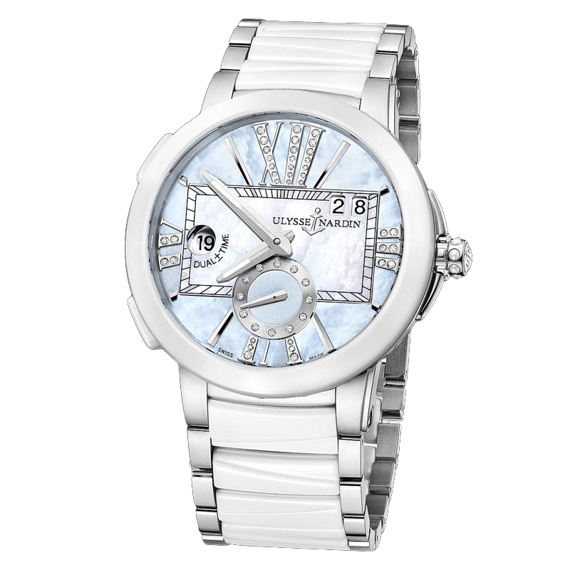 Executive Dual Time Ladies 40mm 243-10-7/393