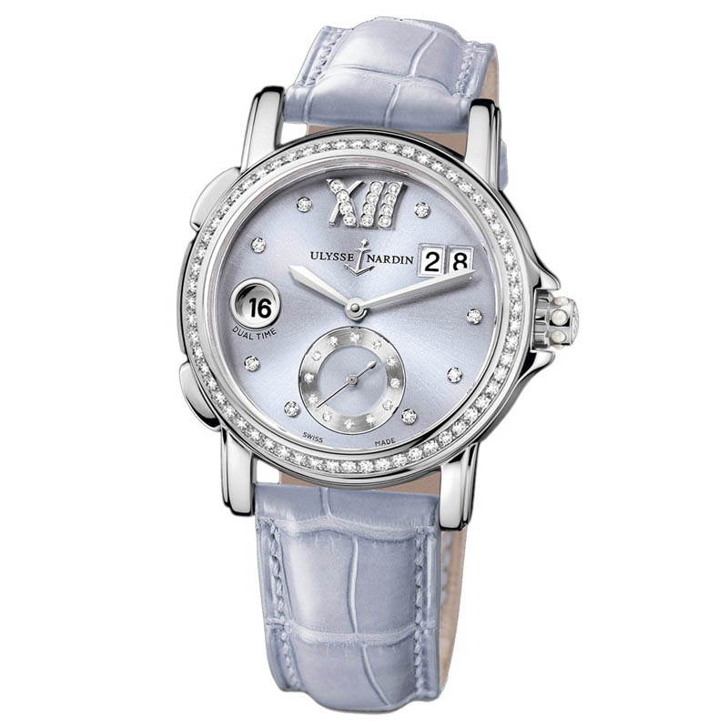 Dual Time Ladies Small Seconds 37mm 243-22B/30-07