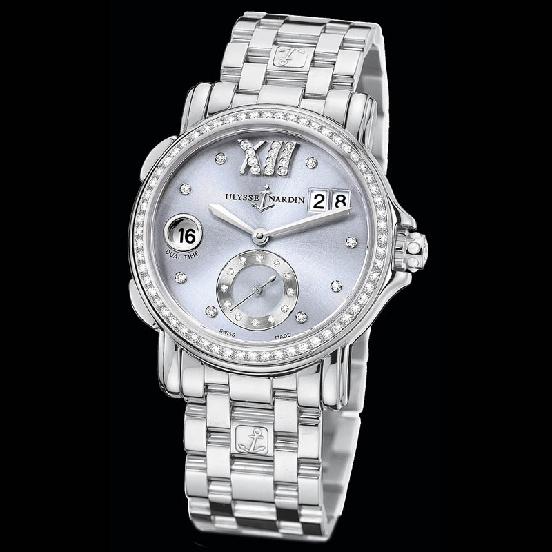Dual Time Ladies Small Seconds 37mm 243-22B-7/30-07