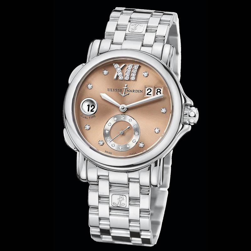 Dual Time Ladies Small Seconds 37mm 243-22-7/30-09
