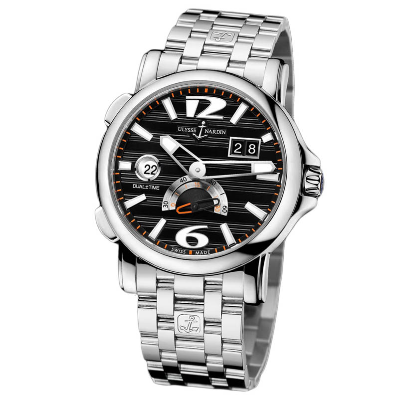 Dual Time Small Seconds 42mm 243-55-7/62