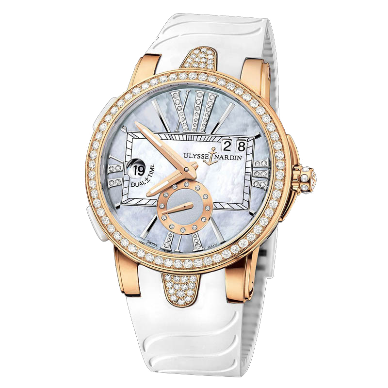 Executive Dual Time Ladies 40mm 246-10B-3C/392