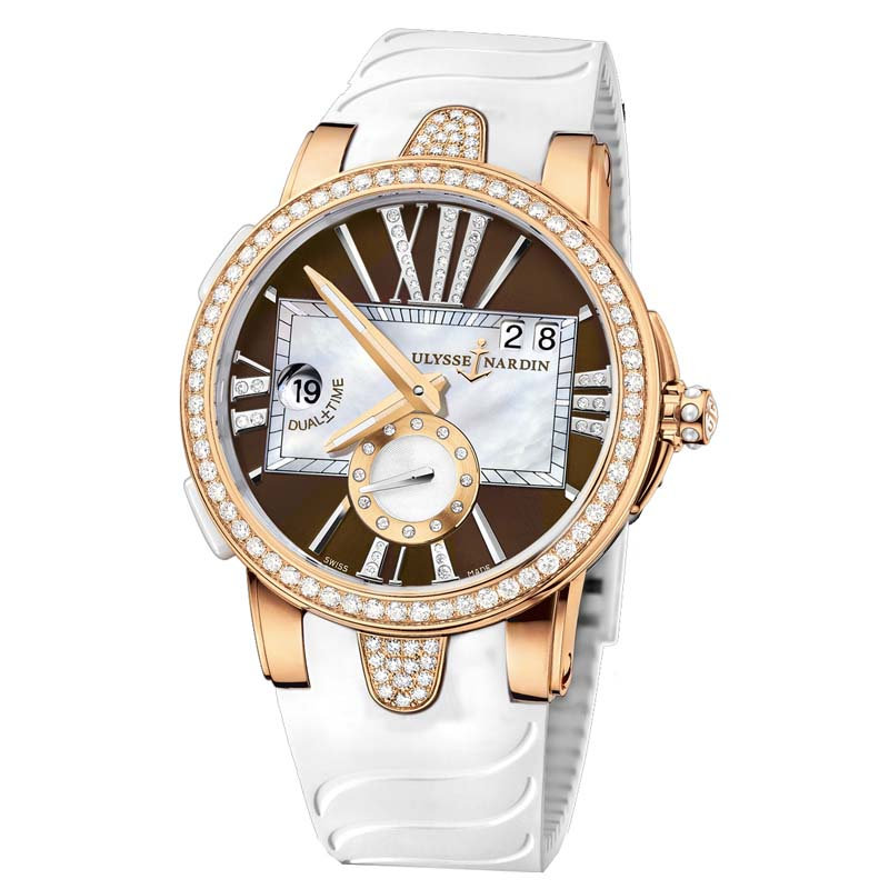 Executive Dual Time Ladies 40mm 246-10B-3/30-05