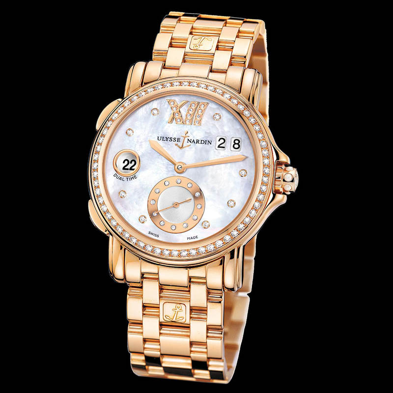 Dual Time Ladies Small Seconds 37mm 246-22B-8/391