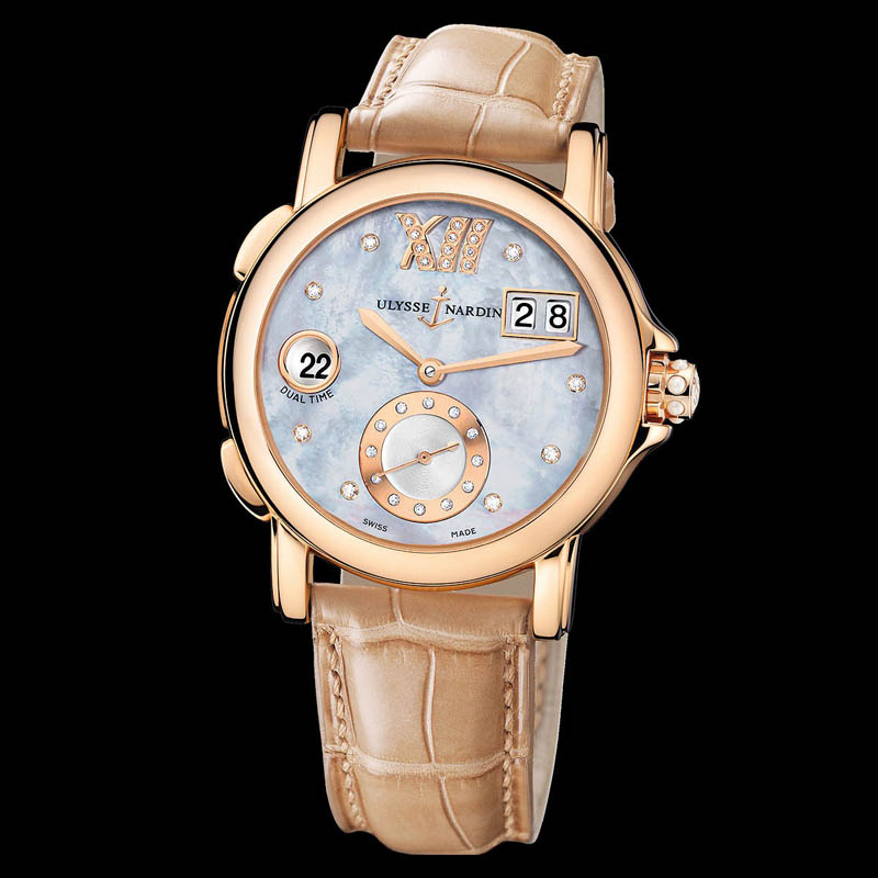Dual Time Ladies Small Seconds 37mm 246-22/392