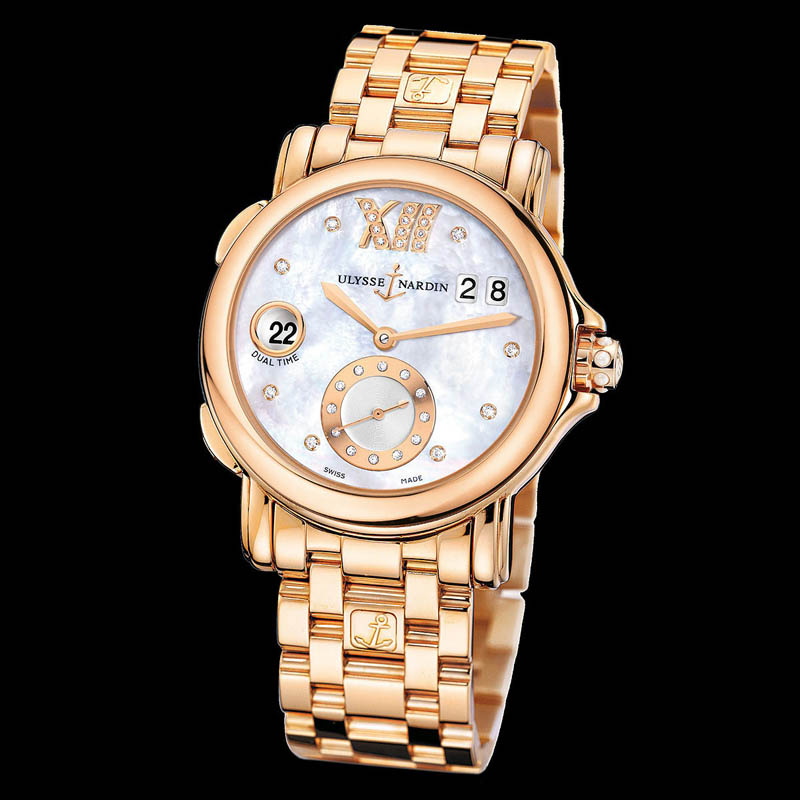 Dual Time Ladies Small Seconds 37mm 246-22-8/391