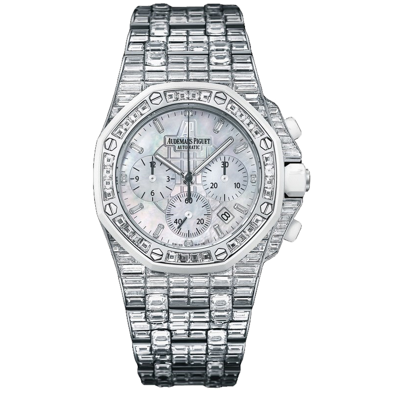 Royal Oak Offshore Ladies Chronograph Diamond-Set 26114CK.ZZ.9181BC.01