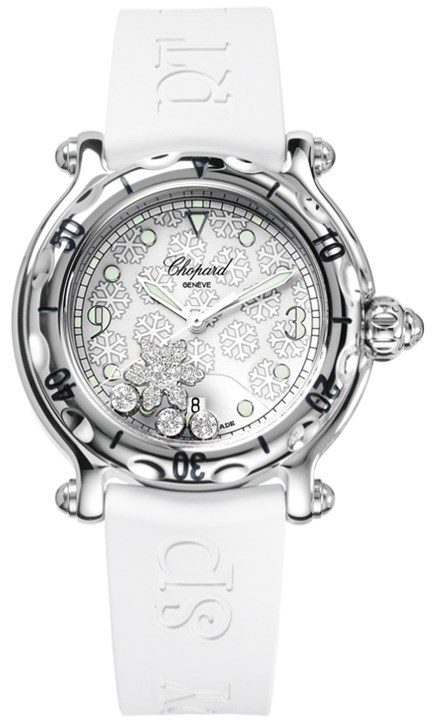 Happy Diamonds Snowflake Ladies Watch 278949-3001