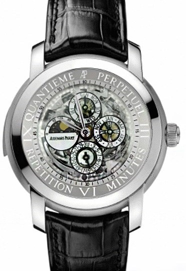 Jules Audemars Skeleton Minute Repeater Perpetual Calendar 26063PT.OO.D002CR.01