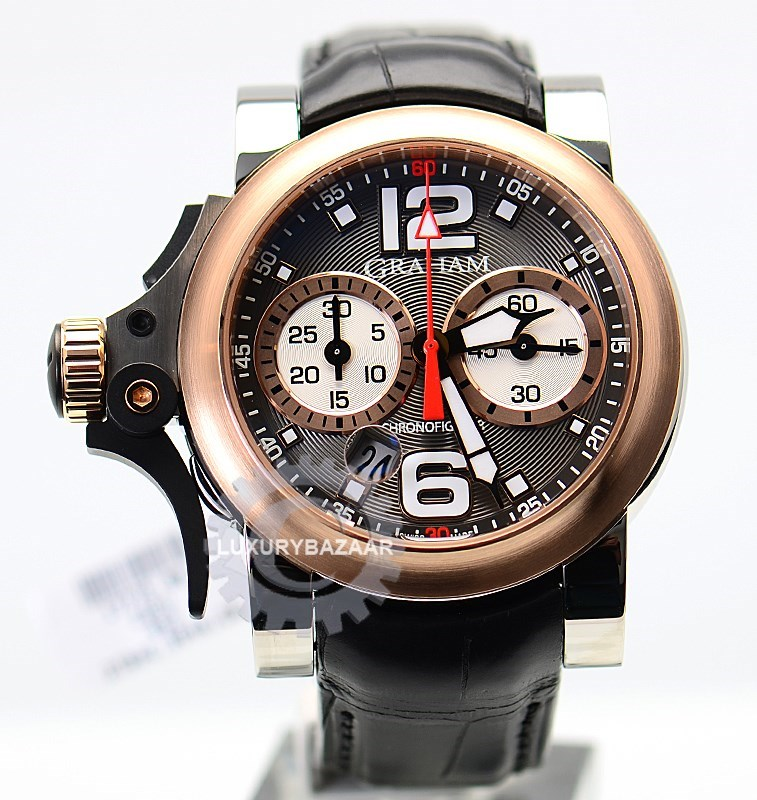 Chronofighter R.A.C Trigger Charcoal Rush 2TRAG.B04A.C71B