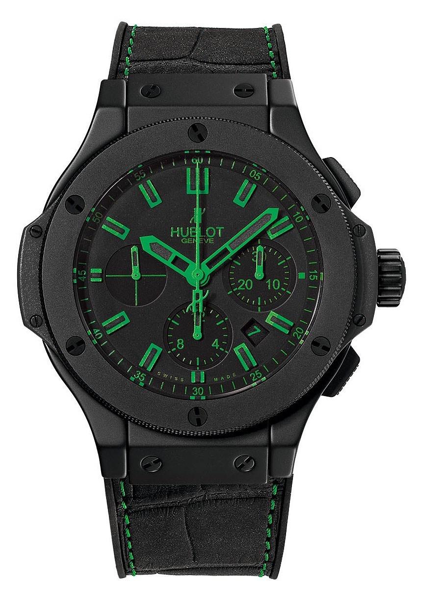 Big Bang All Black Green 301.CI.1190.GR.ABG11