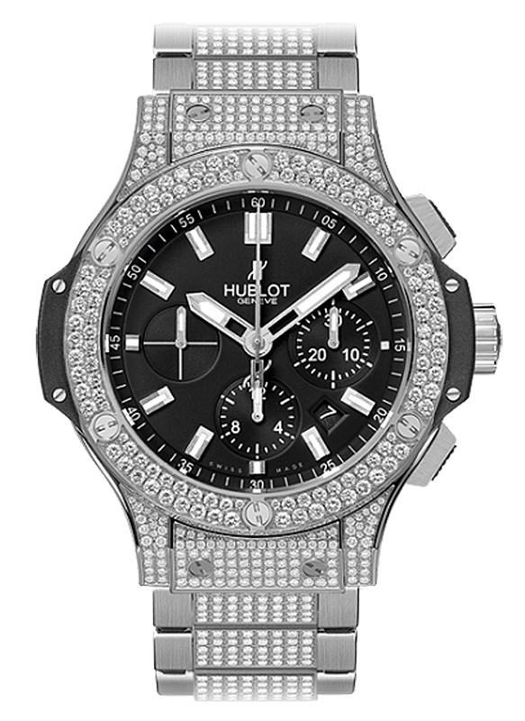 Big Bang Steel Bracelet Pave 301.SX.1170.SX.2704