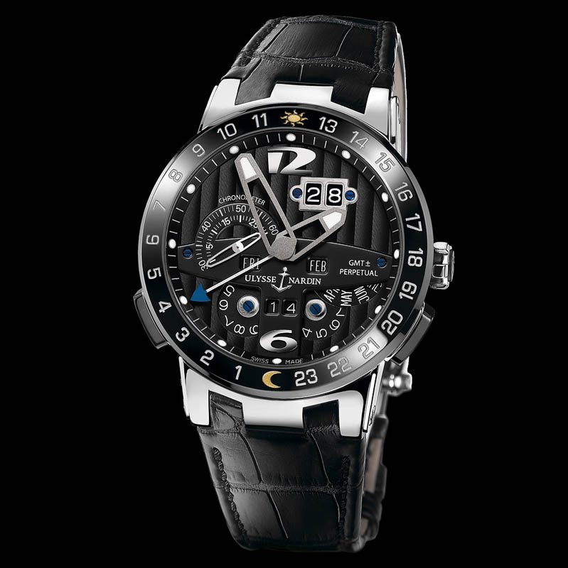 El Toro/Black Toro GMT Perpetual 43mm 320-00