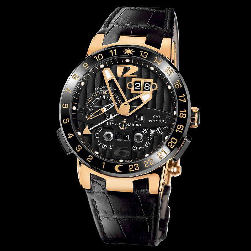 El Toro/Black Toro GMT Perpetual 43mm 326-03
