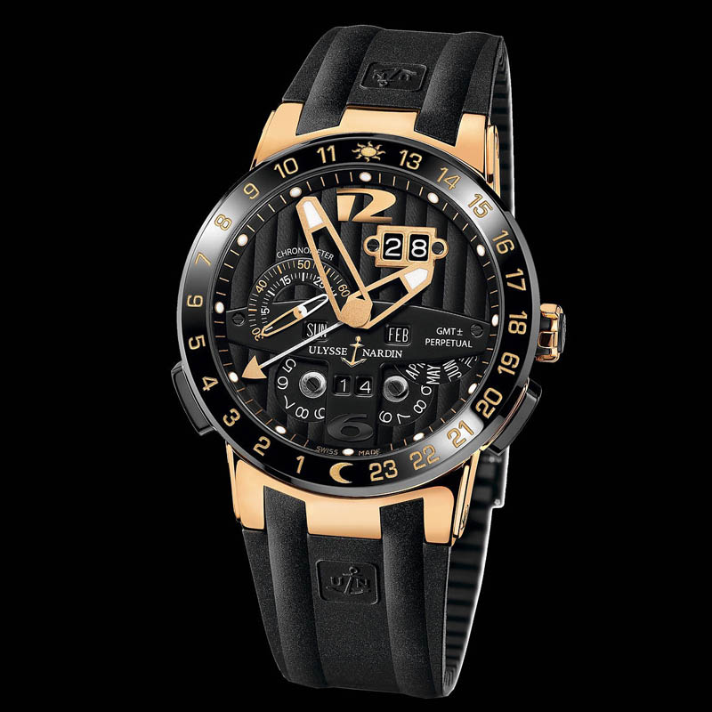 El Toro/Black Toro GMT Perpetual 43mm 326-03-3