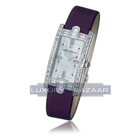 Harry Winston Avenue C  (WG-Baguettes / MOP / Satin)