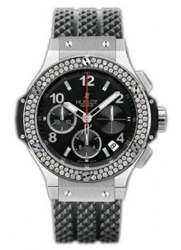 Big Bang (SS-Diamonds / Black / Rubber)