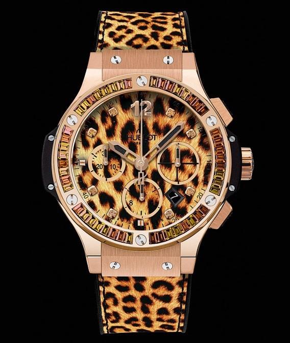 Big Bang Gold Leopard 341.PX.7610.NR.1976