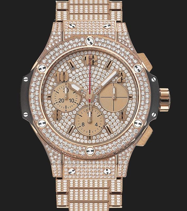 Big Bang Gold Bracelet Full Pave 341.PX.9010.PX.3704
