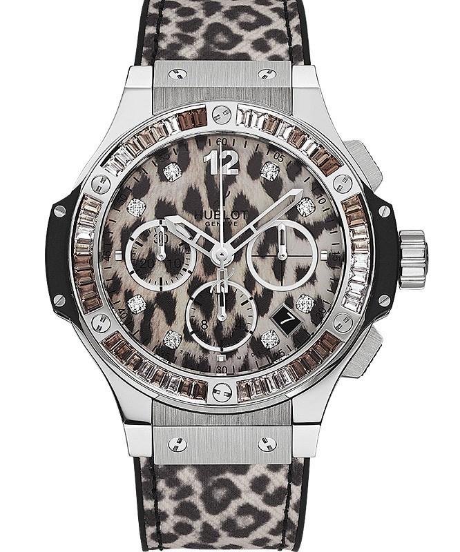 Big Bang Steel Snow Leopard 341.SX.7717.NR.1977