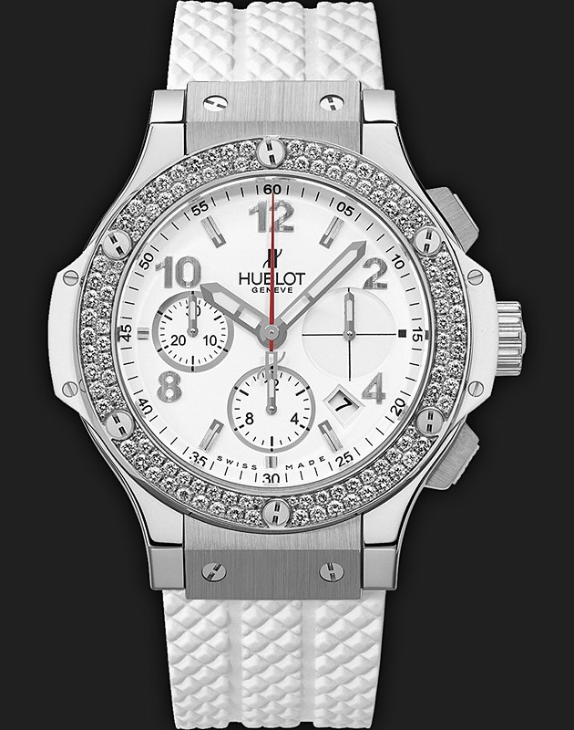 Big Bang Steel White Diamonds 342.SE.230.RW.114