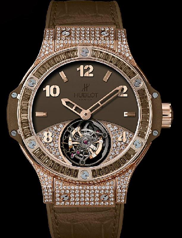 Big Bang Tutti Frutti Tourbillon Brown Pave 345.PC.5490.LR.0916