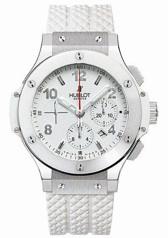 Big Bang St Moritz (Steel / White / Rubber)