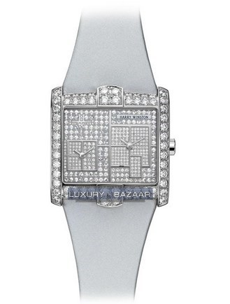Avenue Squared A2 New York Dial Pave AVSQTZ38WW024