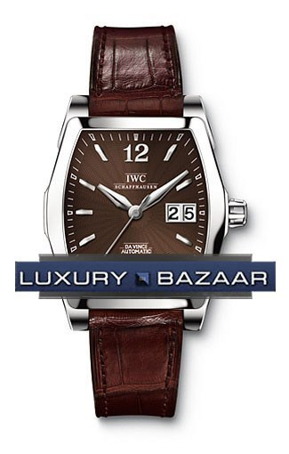 Da Vinci Automatic (SS / Brown / Leather)