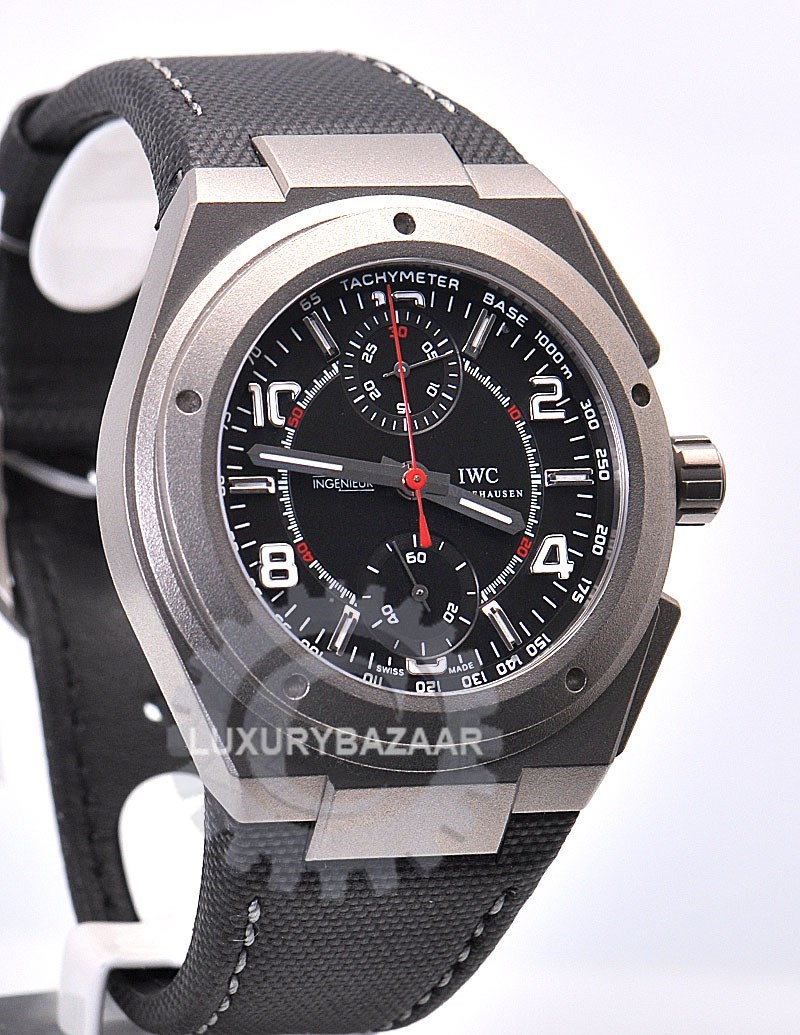 iwc ingenieur chronograph amg iw372504 luxury bazaar. Black Bedroom Furniture Sets. Home Design Ideas