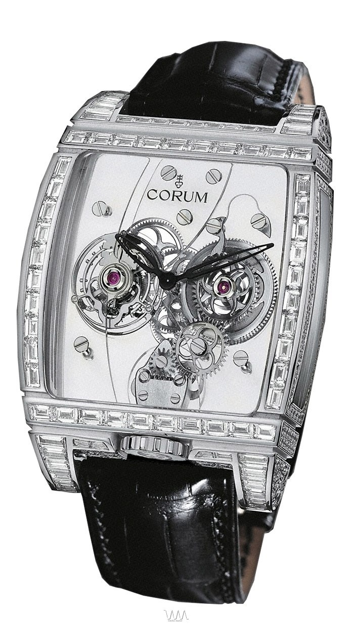 Golden Panoramique Tourbillon with Diamonds 382.859.69/0F81 0000