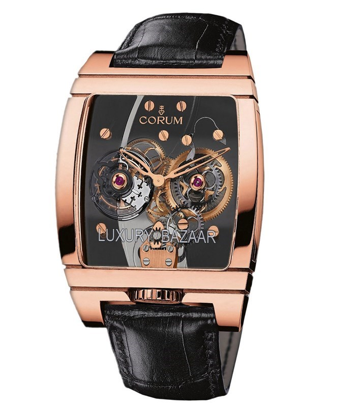 Golden Bridge Tourbillon Panoramic 382.870.55/0F01 0000
