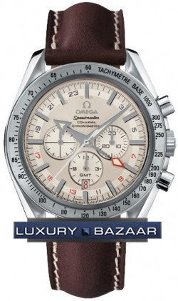 Speedmaster Broad Arrow GMT 3881.30.37