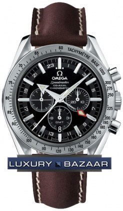 Speedmaster Broad Arrow GMT 3881.50.37