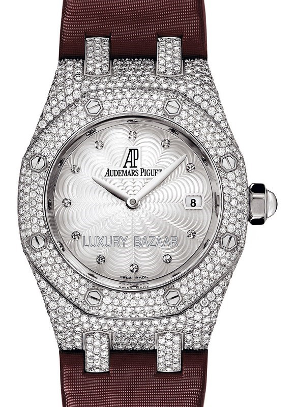 Royal Oak Ladies Pave 67605BC.ZZ.D070SU.01
