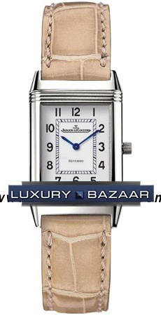 Reverso Lady (Steel / White / Leather)