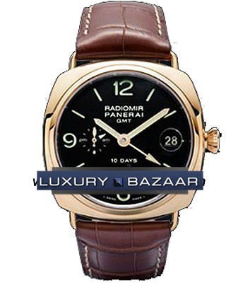 Radiomir 10 Days GMT Pink Gold PAM 00273