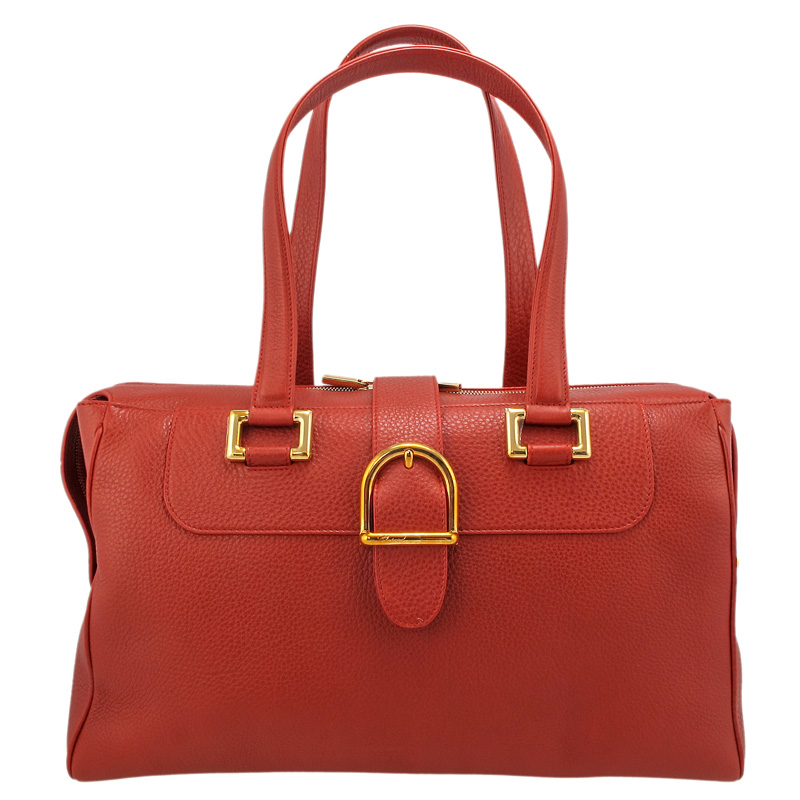 Praga Day Classica Red Grained Leather 95000-0418