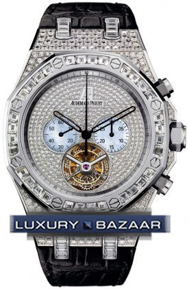 Royal Oak Diamond Chrono Tourbillon 26116BC.ZZ.D002CR.01