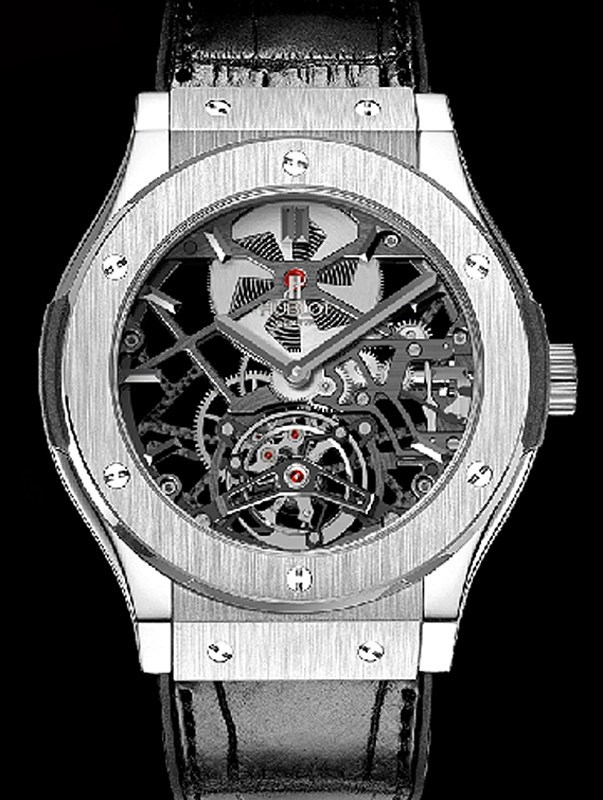 Classic Fusion Skeleton Tourbillon Titanium  505.NX.0170.LR