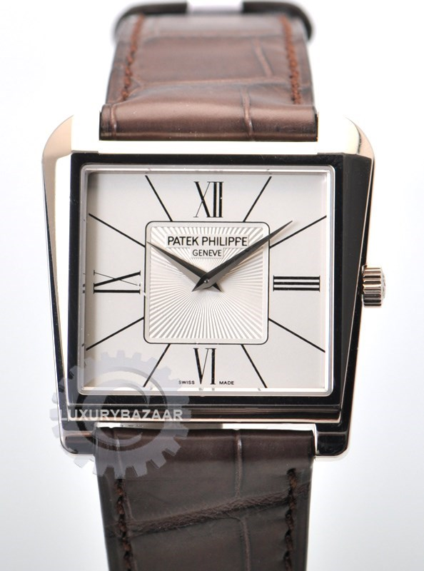 Gondolo 5489G (WG / White / Leather Strap)