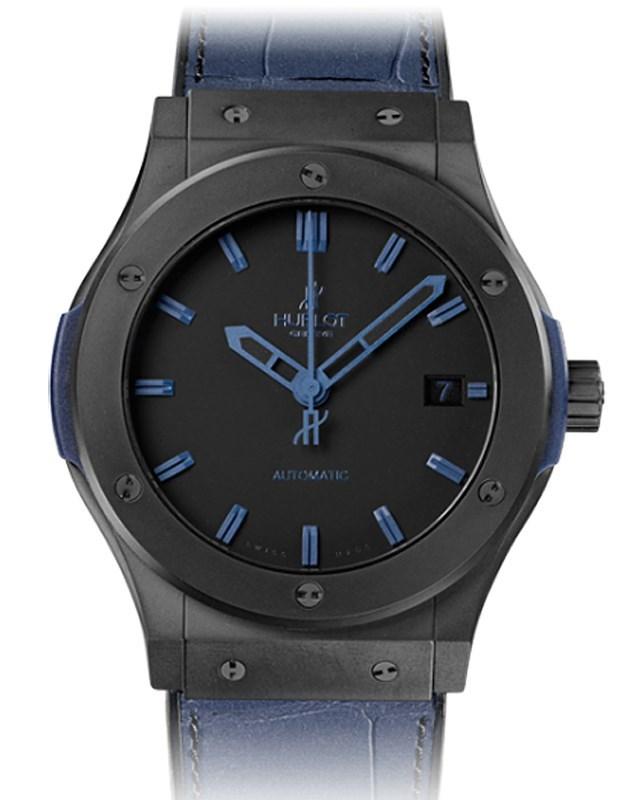 Classic Fusion All Black Blue 511.CI.1190.GR.ABB10