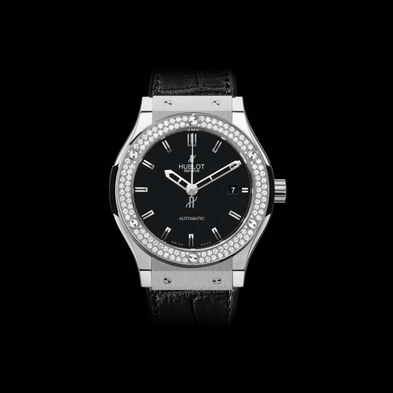 Classic Fusion Titanium Diamonds 45mm 511.NX.1170.LR.1104