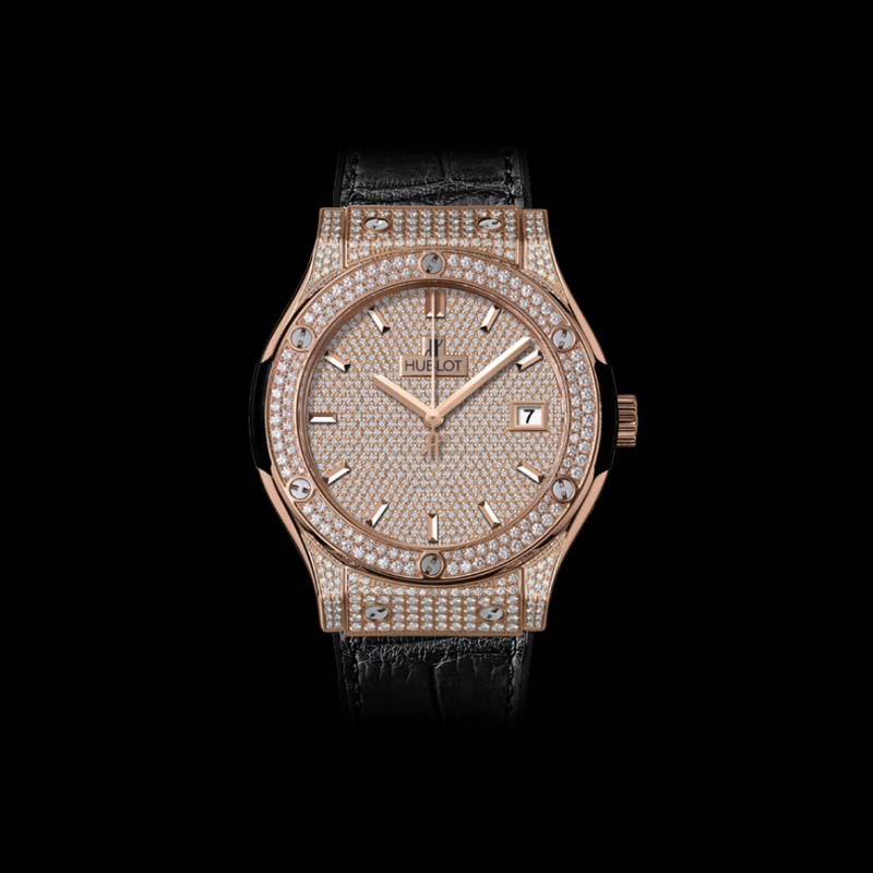 Classic Fusion King Gold Full Pavé 45mm 511.OX.9010.LR.1704