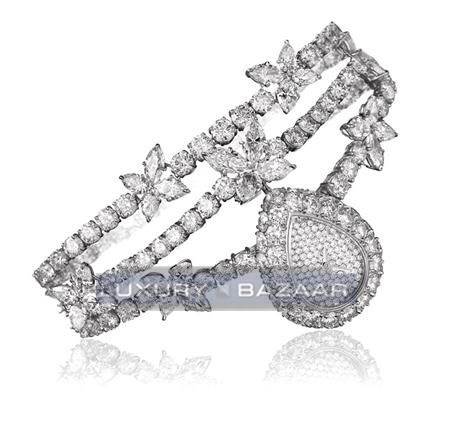 Harry Winston Jewels That Tell Time Marquesa Diamond Drop 512/LQPP.MD/01