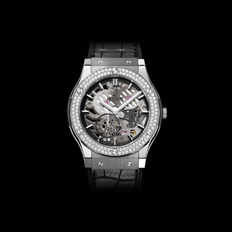 Classic Fusion Classico Ultra-Thin Titanium Diamonds 45mm 515.NX.0170.LR.1104