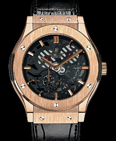 Classic Fusion Extra-Thin Skeleton King Gold 515.OX.0180.LR