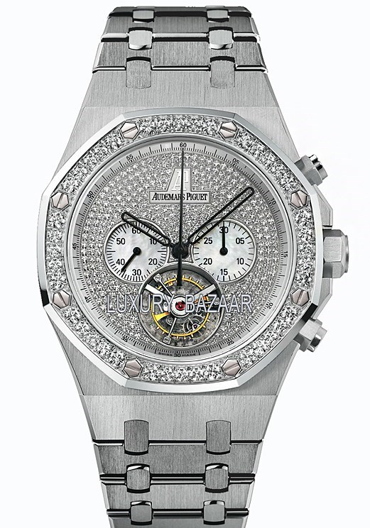 Royal Oak Jeweled Chrono Tourbillon 26039BC.ZZ.1205BC.01