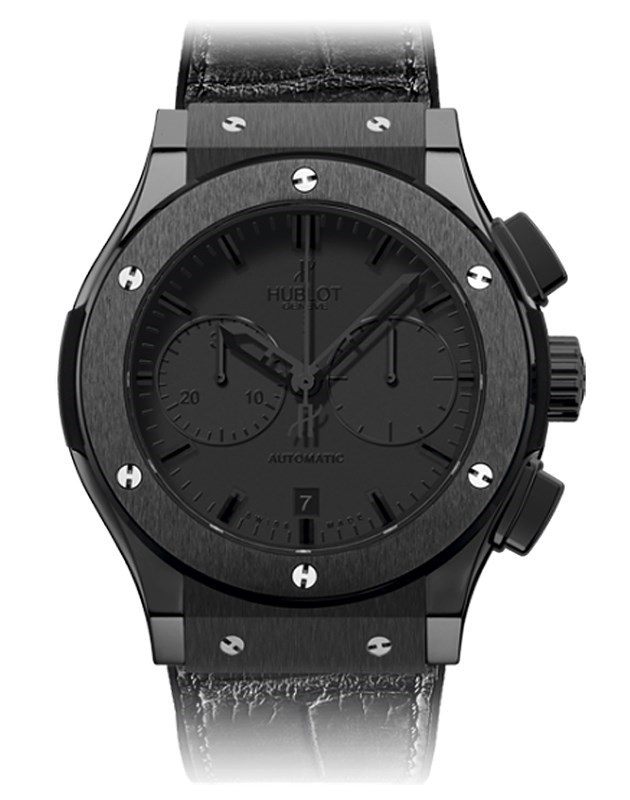 Classic Fusion All Black Chrono 521.CM.1110.LR